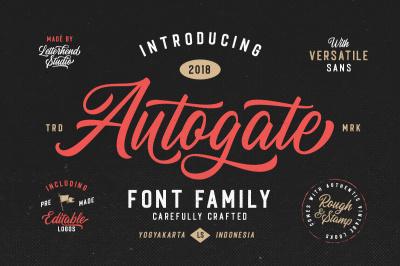 Autogate - Font Duo (+BONUS)