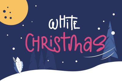 Christmas with illustration