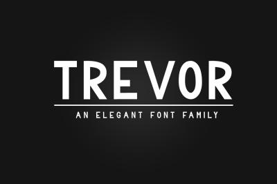 Trevor - Elegant Sans Serif Family
