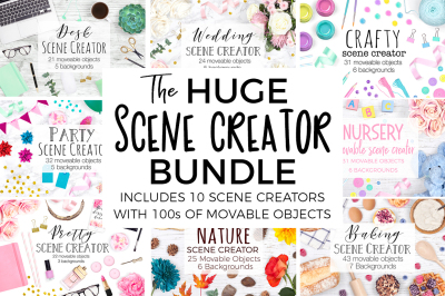 Huge Scene Creator Bundle