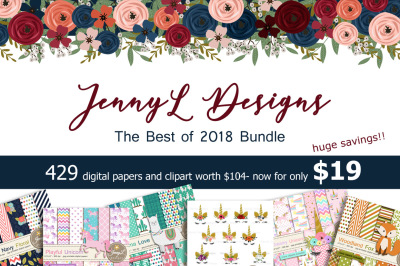 JennyL Designs The Best of 2018 Bundle