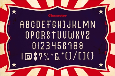 The Circus Show - Display Typeface