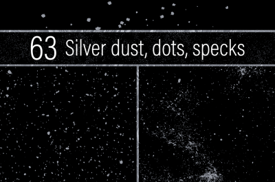 Silver Dust, Dots and Specks