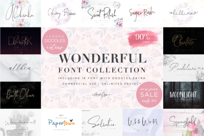 Wonderful Font Bundle