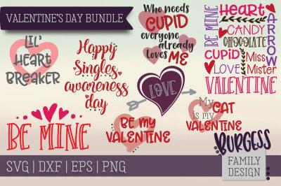BUNDLE Valentines Day | SVG DXF EPS PNG
