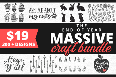 The End of Year Massive Craft Bundle