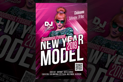 New Year Night Flyer Templates