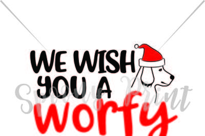 We wish you a worfy christmas