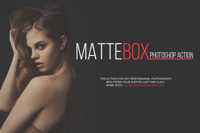 MATTEBOX Photoshop Action