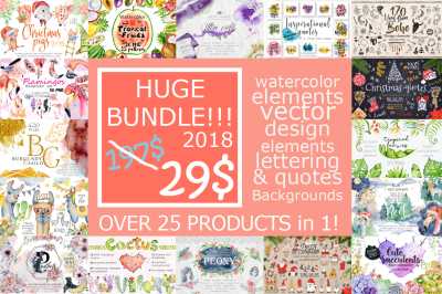 Huge Bundle 2018!