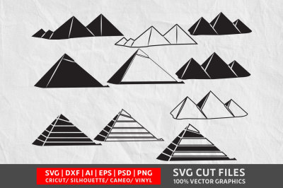 Pyramid  SVG cut file