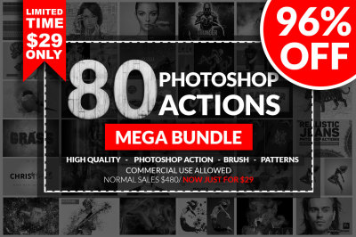 Photoshop Action Mega Bundle