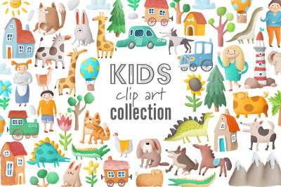 Clip art collection+patterns