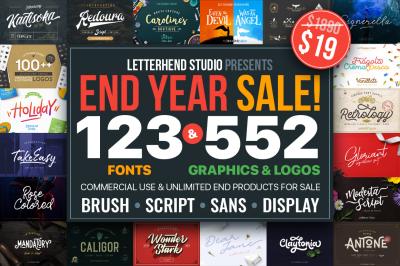 The Letterhend's End Year Bundle