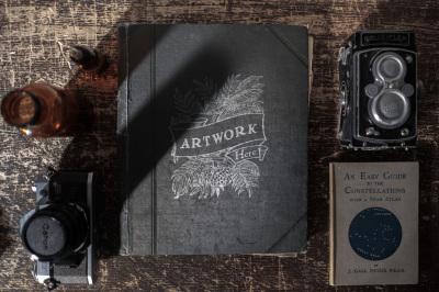 The Collector - Custom Mockup Scenes - Vol 1