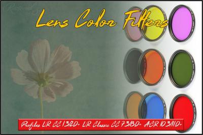 Lens Color Filters Profiles LR ACR Lightroom 7.3 ACR 10.3