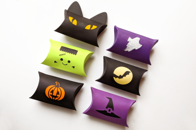 Halloween Pillow Box | SVG | PNG | DXF
