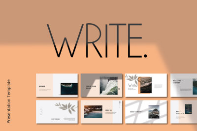 Write PowerPoint Template