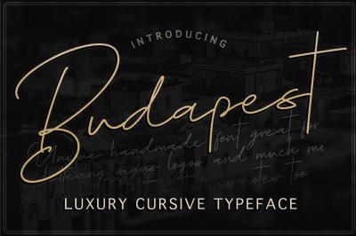 Budapest Script Font - 3 Fonts