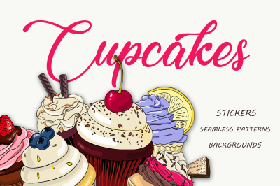 Cupcakes - Vector Pack