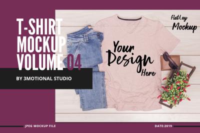 Neo T-Shirt Mockup Volume 04