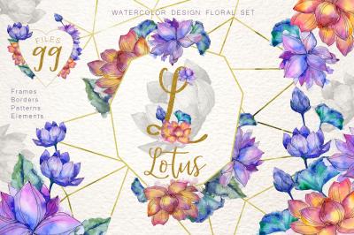 lotus Watercolor png