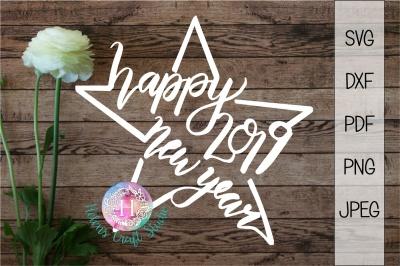 New Year 2019 Star