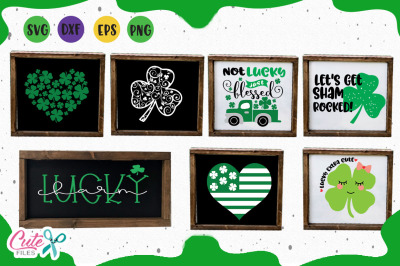 St patricks bundle svg, cutting Files for Crafter