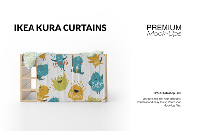 Ikea Kura Playhouse Curtains Set