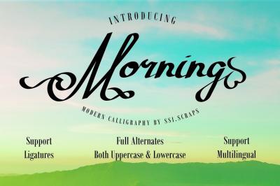 Morning Typeface
