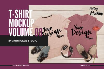 Neo T-Shirt Mockup Volume 08