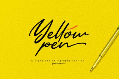 Yellow Pen Script + Bonus