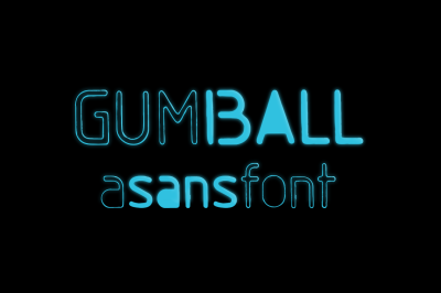 Gumball | a sans font & bonus