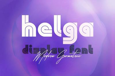Helga - Display Font