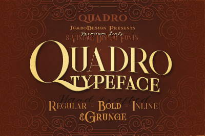 Quadro - Display Font