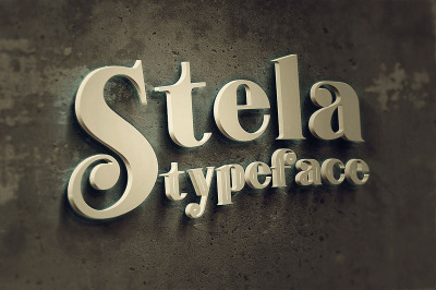Stela - Display Font
