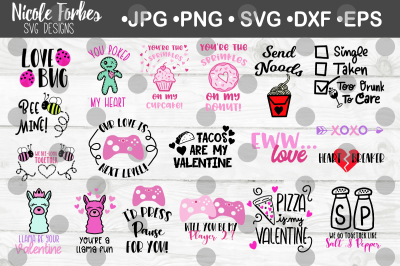Valentine's Day SVG Bundle