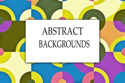 Abstract circle backgrounds