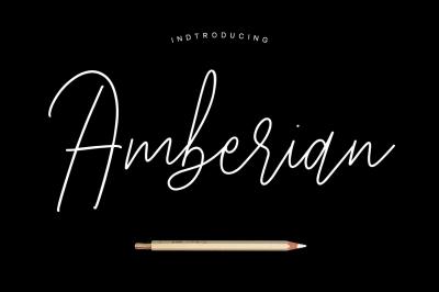 Amberian Font