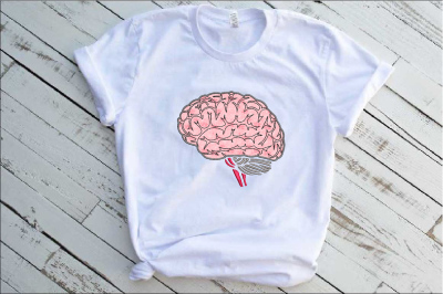 Brain Applique Designs for Embroidery  30a