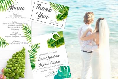Tropical Wedding Suite