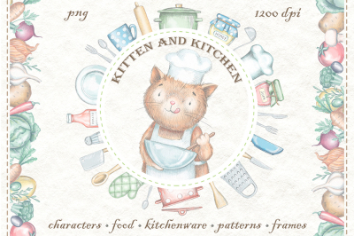 Kitten & Kitchen