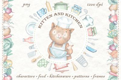 Kitten & Kitchen