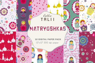 MATRYOSHKAS DIGITAL PAPER
