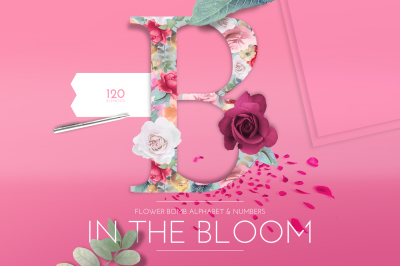 In The Bloom Flower Bomb Alphabet