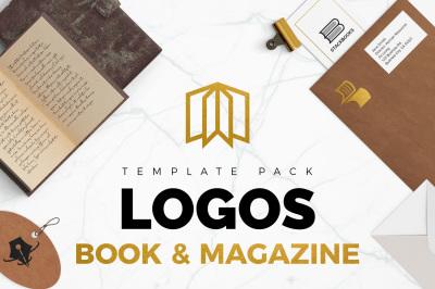 20 Books & Magazine Logo Pack