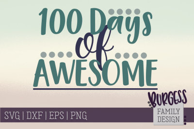 100 days of awesome | Cut file