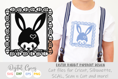 Easter Rabbit SVG / DXF / EPS / PNG files