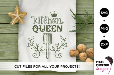 Kitchen Queen SVG