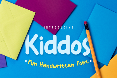Kiddos Fun Handwritten Font